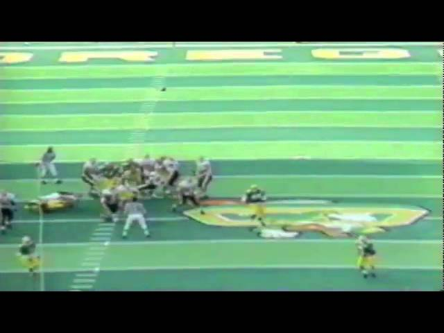 Oregon CB Kenny Wheaton intercepts a pass from ASU QB Jake Plummer 11-05-1994