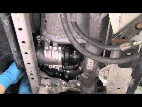 Part 2  Replacing the electric water pump on late model BMW N-series 6 cylinder