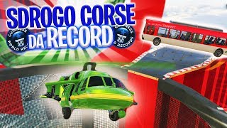 SDROGO CORSE da RECORD - GARA SUPERSONICA & GO-KART! [GTA V]