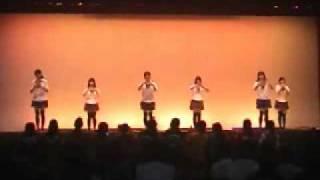 文化祭で化物語 恋愛サーキュレーションを踊ってみた【理系女子】