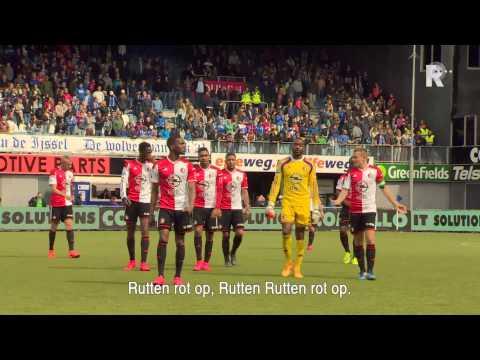 De hectische dag van Feyenoord