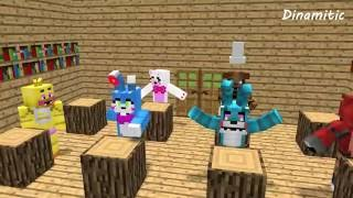 FNAF Monster School: Girls vs Boys Baking Challenge - Minecraft Animation