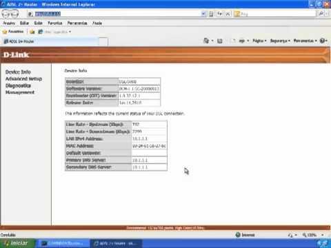 DSL-500B GII Atualização Firmware