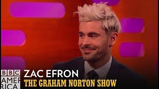 Zac Efron's Transformation Challenge | The Graham Norton Show | BBC America