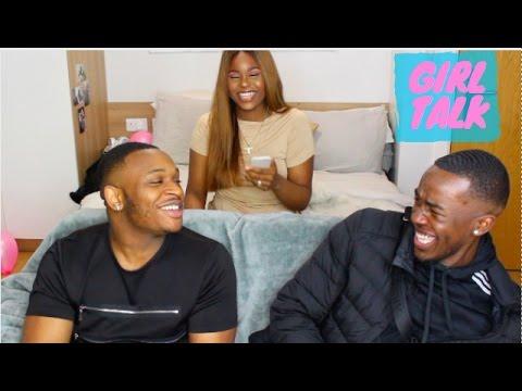 GIRL TALK #7 - MY MAN SUCKS TOES, IM 14 MY MAN IS 23?