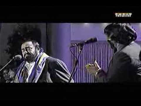 James Brown & Luciano Pavarotti - It's A Man's World video