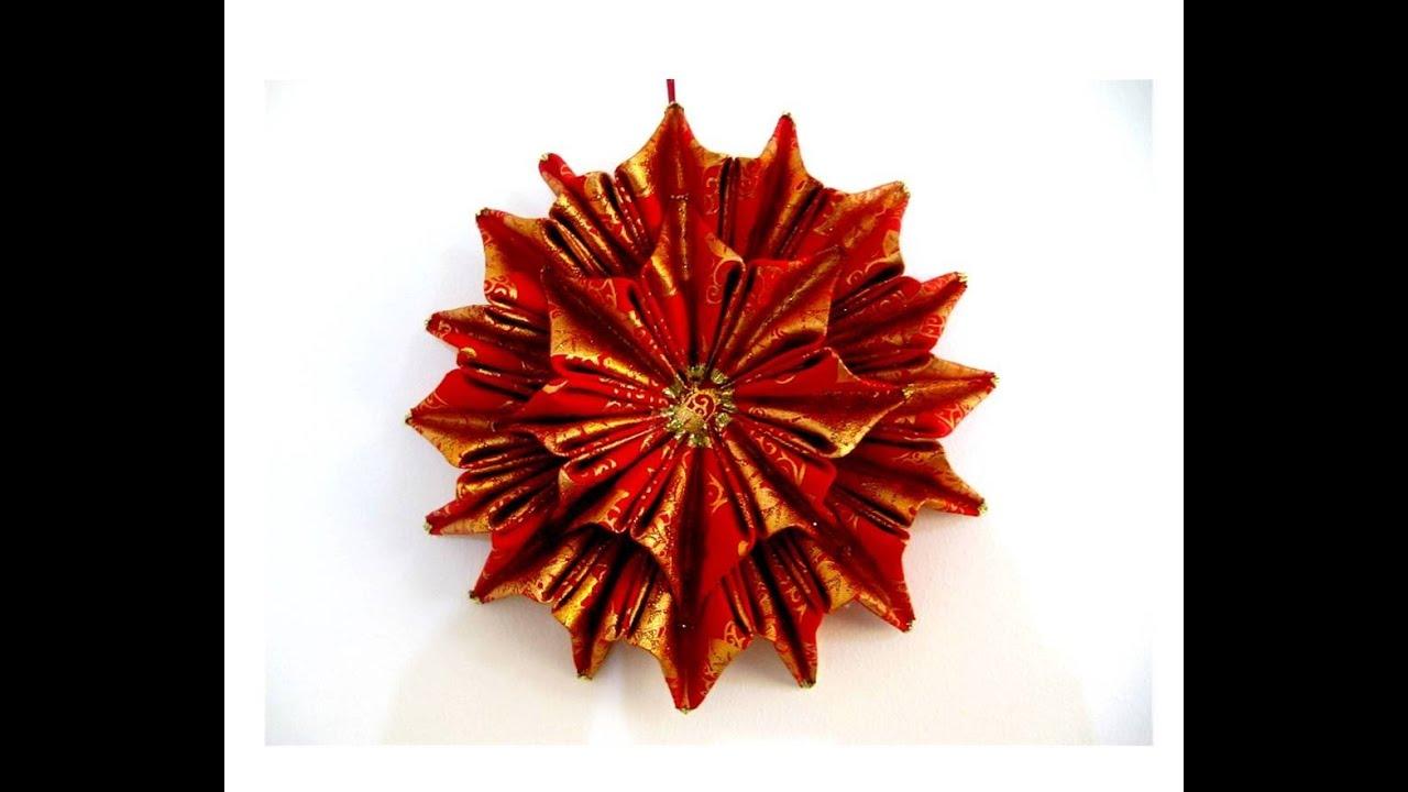 Mo os navide os flor estrella doble relieves en cintas for Monos navidenos