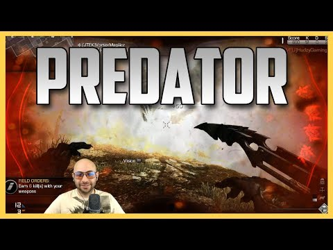 Call of Duty Ghosts - Predator is on the hunt  and his heat vision is OP