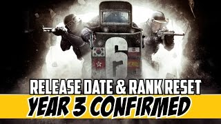 Rainbow Six Siege Year 3 Confirmed Operation Health Release Date May 24th & Rank Reset
