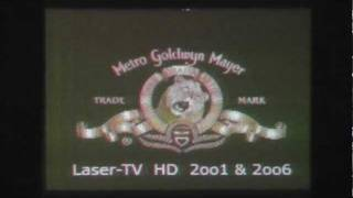 full color Laser-TV   -   home made