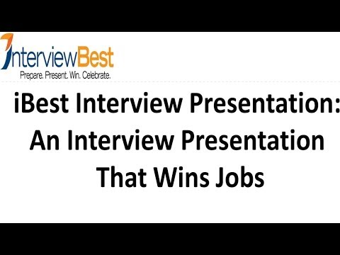 An Interview Presentation That Lands A Job