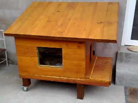 Building the cat house - Part 8