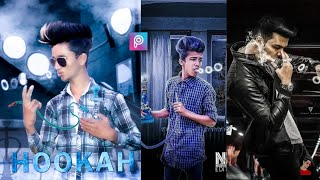 PicsArt Hookah Photo Editing Tutorial in picsart Step by Step in Hindi