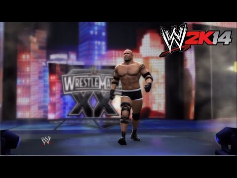 Wwe 2k14 - Wrestlemania Xx: Bill Goldberg Vs. Brock Lesnar video