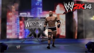 WWE 2K14 - Wrestlemania XX: Bill Goldberg vs. Brock Lesnar