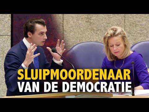 Thierry Baudet pakt Ollongren aan op om zeep helpen referendum