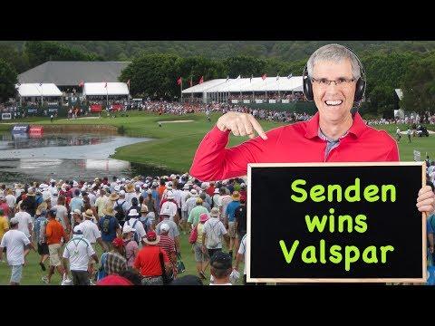 John Senden wins 2014 Valspar Championship