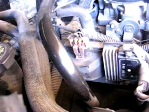 2000 Chevy S10 4.3l V6 engine tapping