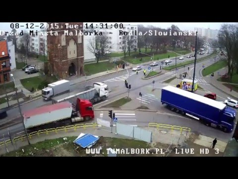Wypadek W Malborku. Nie żyje 77-letnia Kobieta