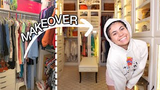 Buying my DREAM WARDROBE (closet makeover)