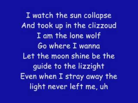 Kid Cudi Feat Ratatat  - Alive LYRICS ON SCREEN