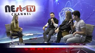 Tineri artiști în vizită la Nest TV Channel