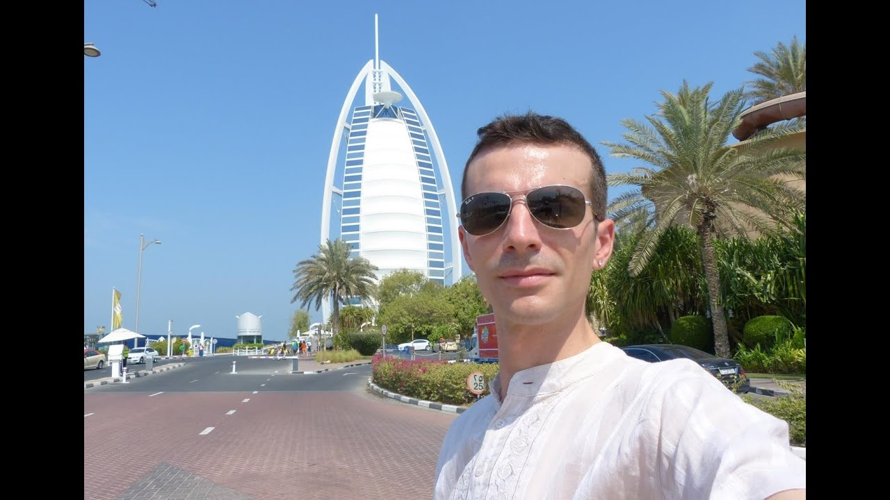 Vlog Dubai: Davanti al Burj Al Arab...Hotel a 7 Stelle - YouTube