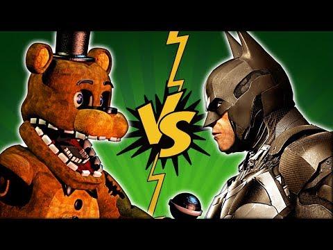 FNAF ФРЕДДИ против БЕТМЕНА !!! КТО ПОБЕДИТ ??? FNAF FREDDY vs BATMAN COMICS | ENG SUB | ФНАФ
