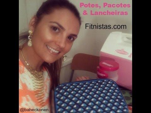 DICAS E REVIEW em LANCHEIRAS. POTES. PACOTINHOS!