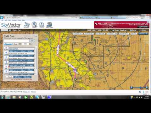FSX Tutorial Ep.7 VFR Flight planning