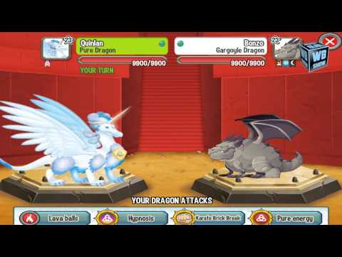 Dragon City: Dinosaur Island Battle #8 - Gargoyle Dragon