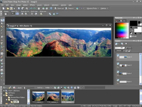 Creating Panoramic Photos - Paint Shop Pro Photo X2 Ultimate