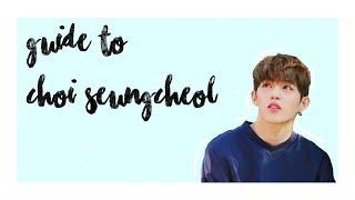 (un)Helpful Guide to SEVENTEEN: Choi Seungcheol