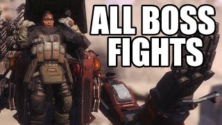 TITANFALL 2 - All Boss Fights - No Commentary