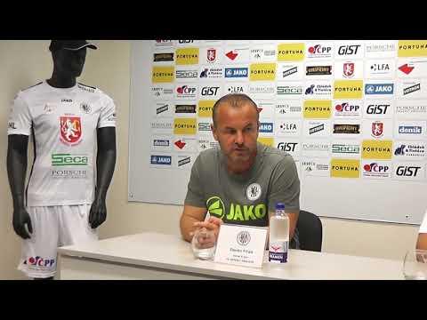 Tisková konference po utkání FC Hradec Králové - MFK Vítkovice 0:0