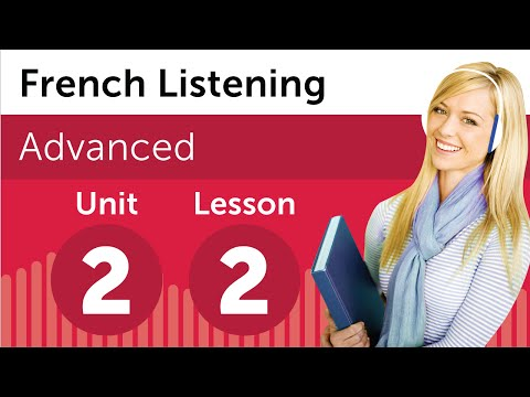 French Listening Comprehension - Setting up a Meeting Room in France
