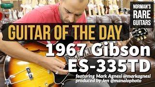 Download Lagu Guitar of the Day: 1967 Gibson ES-335TD Sunburst | Norman's Rare Guitars Gratis STAFABAND