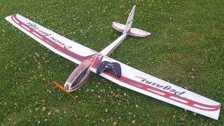 EPP Pegasus od VA-Models - zálet ve slabém větru - (accu 3S 460mAh - 390 g letovka na rozpětí 1,8m)