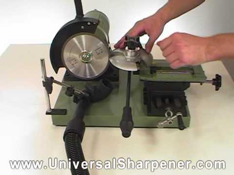 router bit sharpener machine