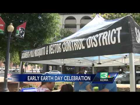 Sac celebrates Earth Day with event at Cesar Chavez Park