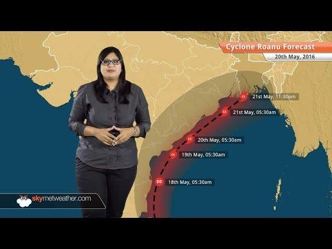 Cyclone Roanu Update May 20: Kolkata, Andhra Pradesh, Odisha to get heavy rains