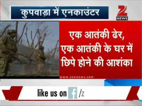 Encounter between militants and security forces in J&K 's Kupwara