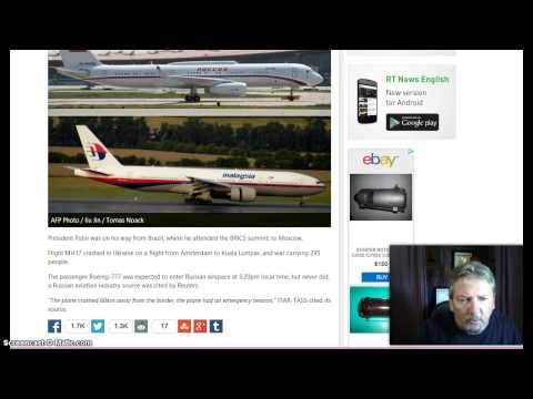BREAKING! WW 3? President Putin's Plane May Of Been Target! Not Malaysian Plane!