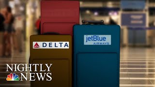 American Airlines Becomes Latest Carrier To Announce Increased Baggage Fees | NBC Nightly News