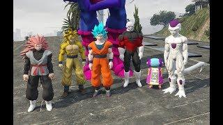 GHTG - Sự trở lại của Black Goku và ai sẽ ngăn chặn hắn (ý tưởng Fan)   GTA 5 4K
