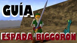 ESPADA BIGGORON - Guía Zelda Ocarina of Time
