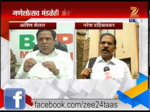 Issue On Building Mandaps On Road 29th June 2015