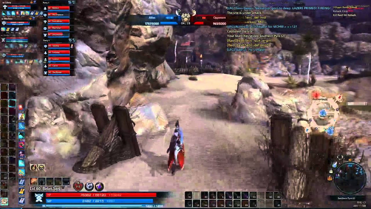 Tera Warrior PvP - YouTube