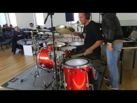 HUGO DANIN - MODULAÇÃO RITMICA TOUR 2011:12COIMBRA