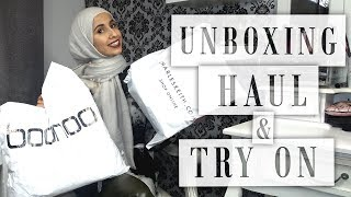 UNBOXING | HAUL | TRY ON